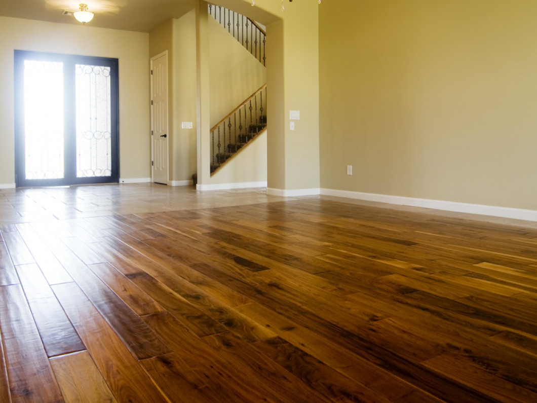 Make a Statement With Unique Wood Floors